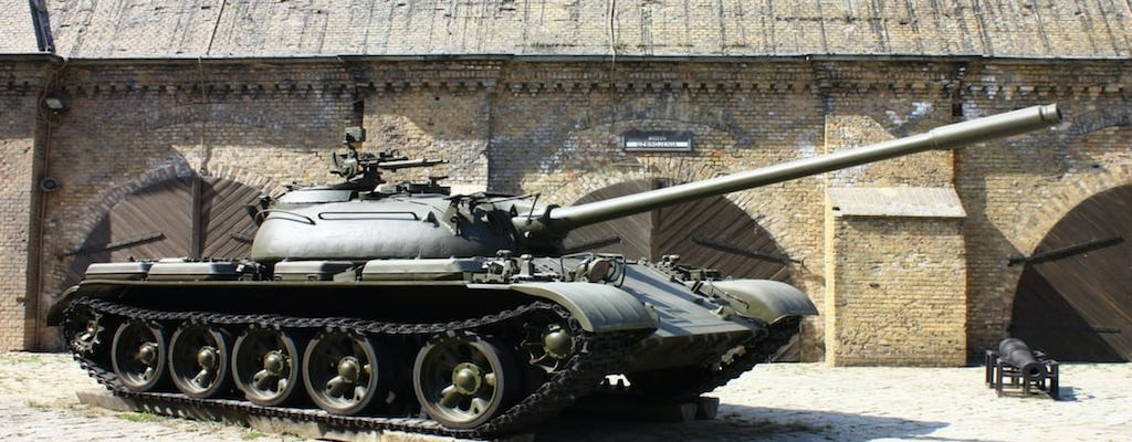Old Town and Citadel Park tour with Museum of Armament ticket
