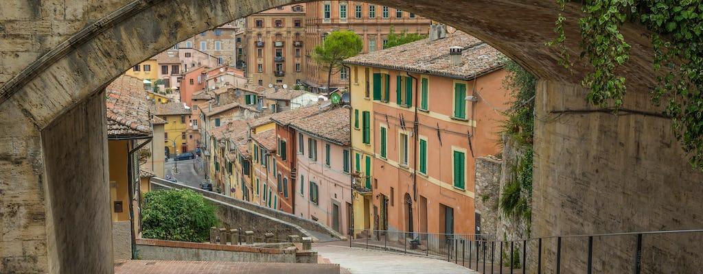 Tour a pie por Perugia con guía privado