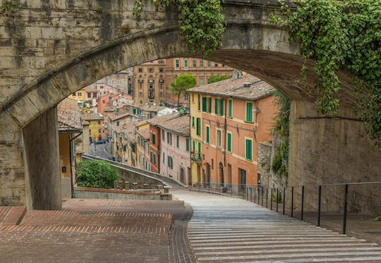 Perugia walking tour with a private guide