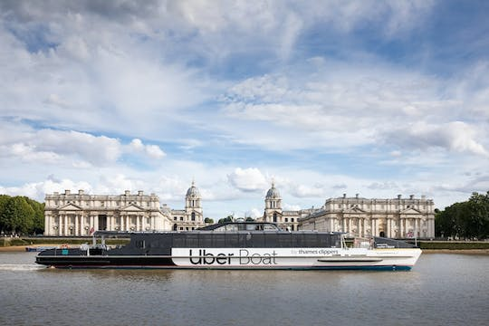 Uber Boats by Thames Clippers hop-on hop-off day ticket