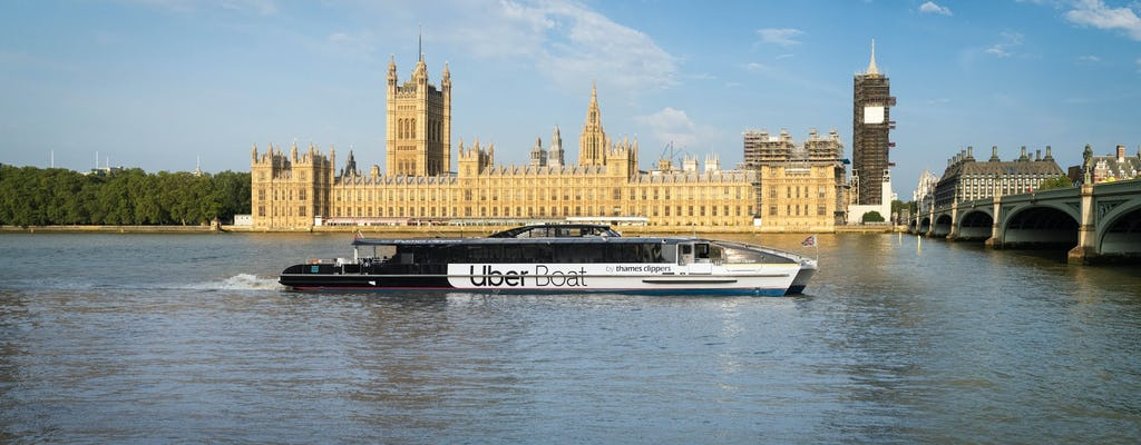 Emirates Airline Cable Car ride and Uber Boat by Thames Clippers River Roamer hop-on-hop-off day-ticket