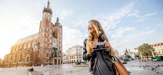 Kraków podkreśla prywatną pieszą wycieczkę po Starym i Nowym Mieście