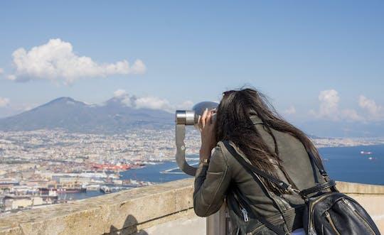 Tour privado por Nápoles - joias escondidas e atrações principais com um local para ver a cidade de forma improvisada