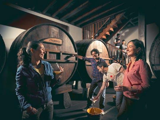 Ciderhuistour in San Sebastián