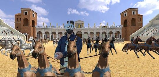 Expérience de réalité virtuelle Circus Maximus GO
