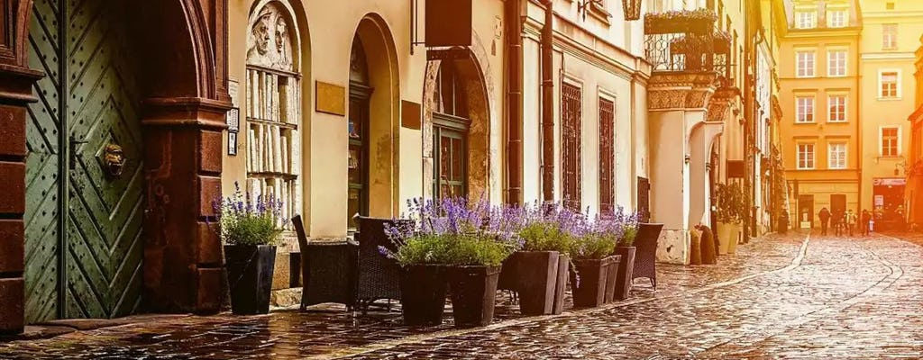 Krakow Old Town highlights private tour with Tempel Synagogue ticket