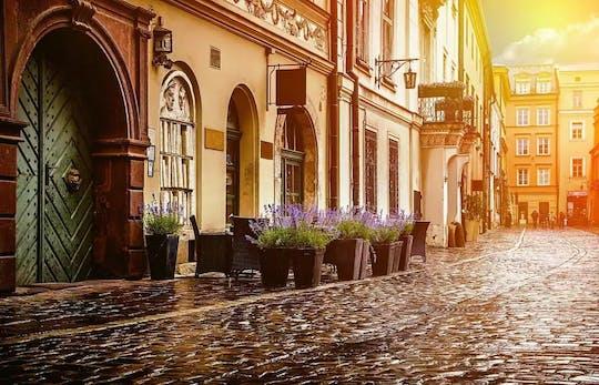 De oude binnenstad van Krakau markeert privétour met ticket voor tempelsynagoge