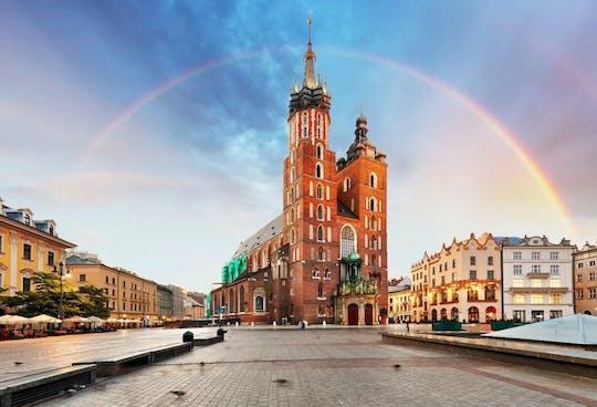Il centro storico di Cracovia evidenzia il tour privato con il biglietto per la Basilica di Santa Maria