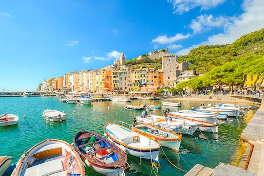 E-bike tour from La Spezia to Porto Venere