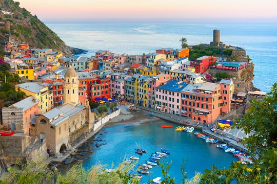 Passeio de bicicleta elétrica por Cinque Terre saindo de La Spezia