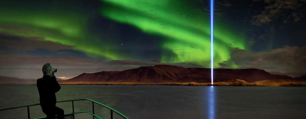 Luksusowy rejs z zorzą polarną z kolacją w Reykjaviku