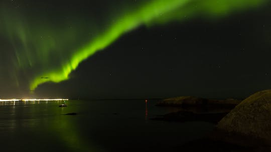 Private northern lights luxury cruise in Reykjavik
