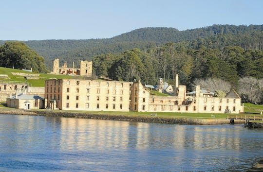 One way bus transfer from Hobart to Port Arthur