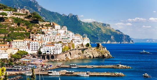 Amalfi Coast group tour from Naples