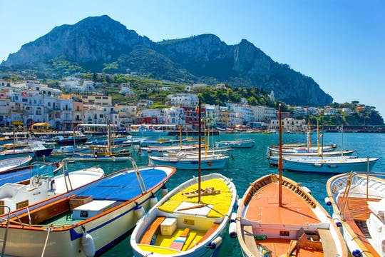 Capri and Anacapri tour from Naples