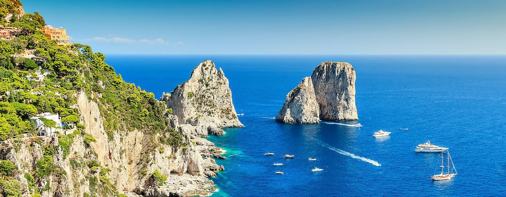 Capri and Anacapri tour with Blue Grotto boat ride