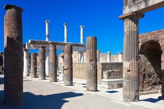 Pompeii ruïneert groepsreis vanuit Napels