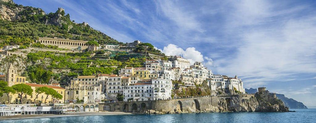 Pompeii ruins and Amalfi coast tour from Naples