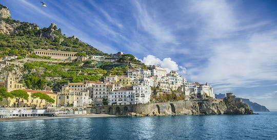 Pompeii ruins and Amalfi coast tour from Naples