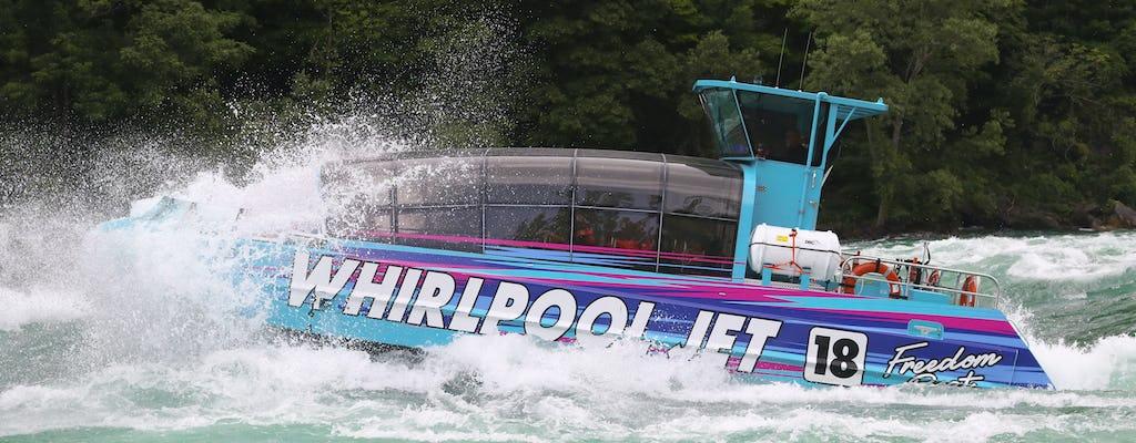 Tour in barca Niagara River Freedom con partenza canadese