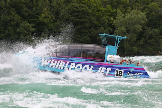 Niagara River Freedom boat tour with Canadian departure