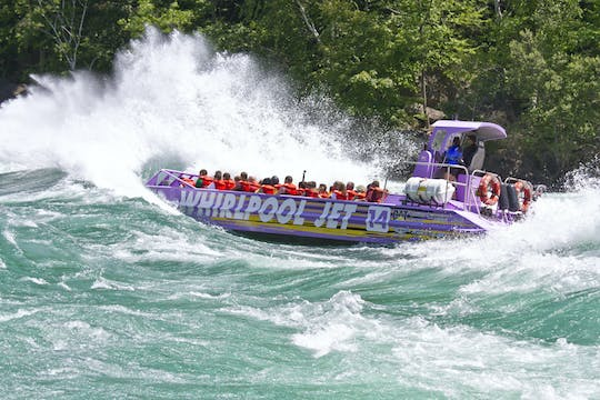 Niagara River Wet Jet boat tour with American departure