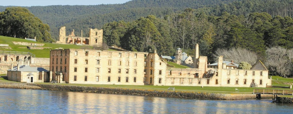 Port Arthur roundtrip bus service from Hobart with entry ticket