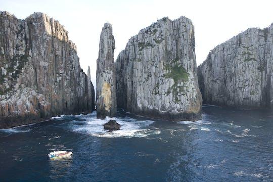 Tasman Island Cruises de Hobart com visita a Port Arthur