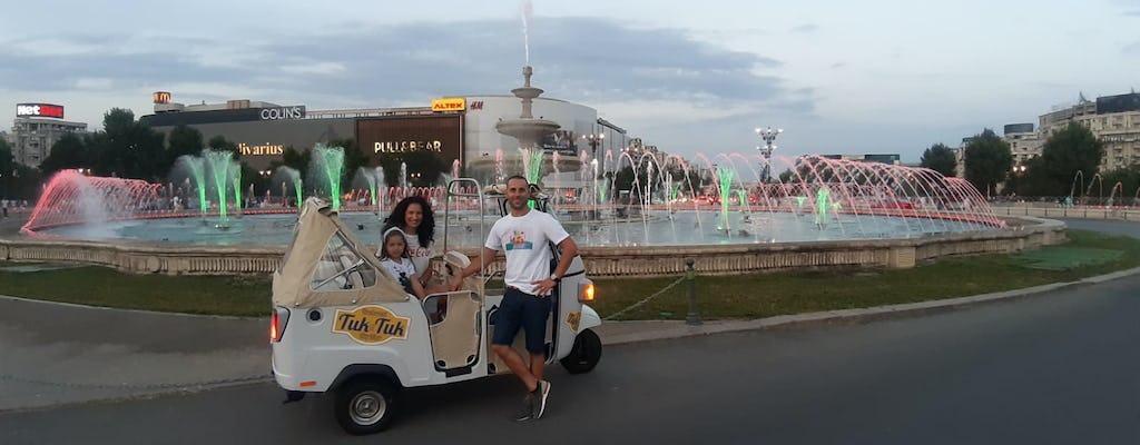 Bucarest Side Un tour panoramico privato su un tuk-tuk