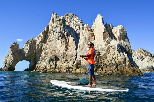 The Arch paddleboard and snorkeling private tour
