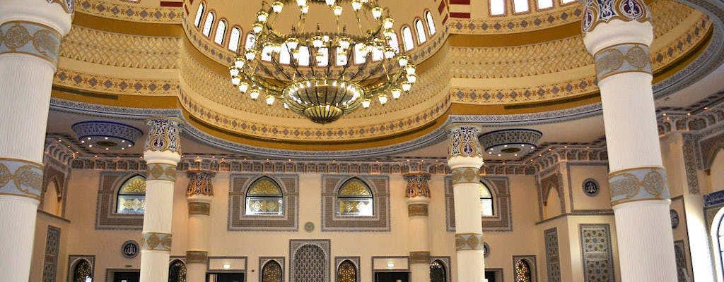 Dubai half-day city tour and Blue Mosque visit from Sharjah