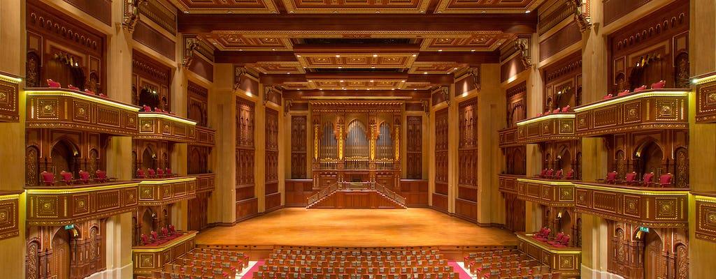 Visita a la ópera real con traslado