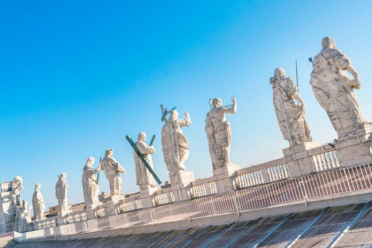 Vatican dome climb and street food tour in Rome