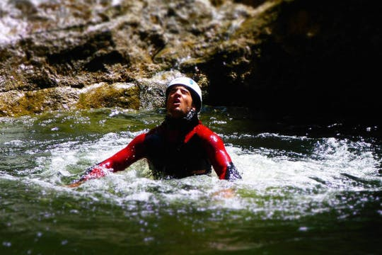Canyoning experience for beginners at Almbachklamm