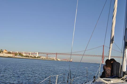 Cruzeiro romântico privado em Lisboa