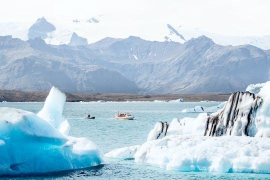Gletsjerlagune Jökulsárlón-tour met boottocht