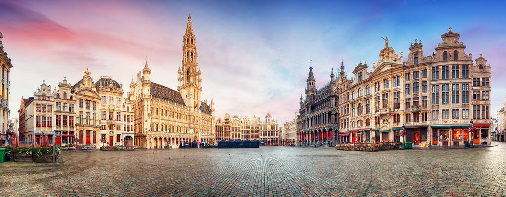 Brussels Highlights live virtual guided tour