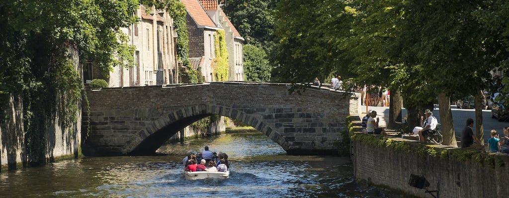 Tour privado personalizado en Brujas desde Bruselas