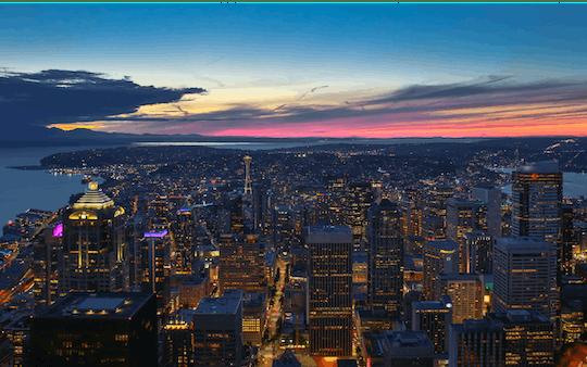 Experiencia privada del Seattle Sky View Observatory