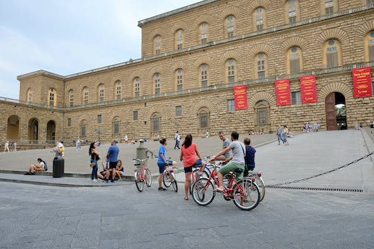 Panoramic sunset bike tour in Florence