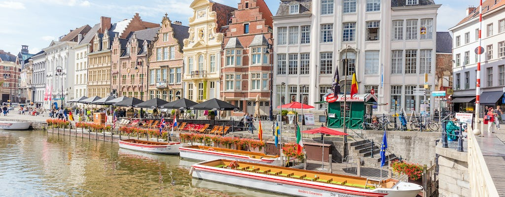 Private excursion in Bruges and Ghent from Brussels
