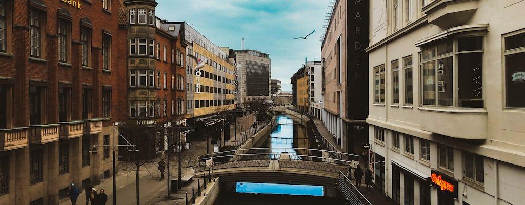 Niespodziewany spacer po Aarhus z miejscowym