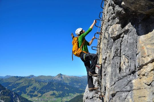Via ferrata experience for beginners