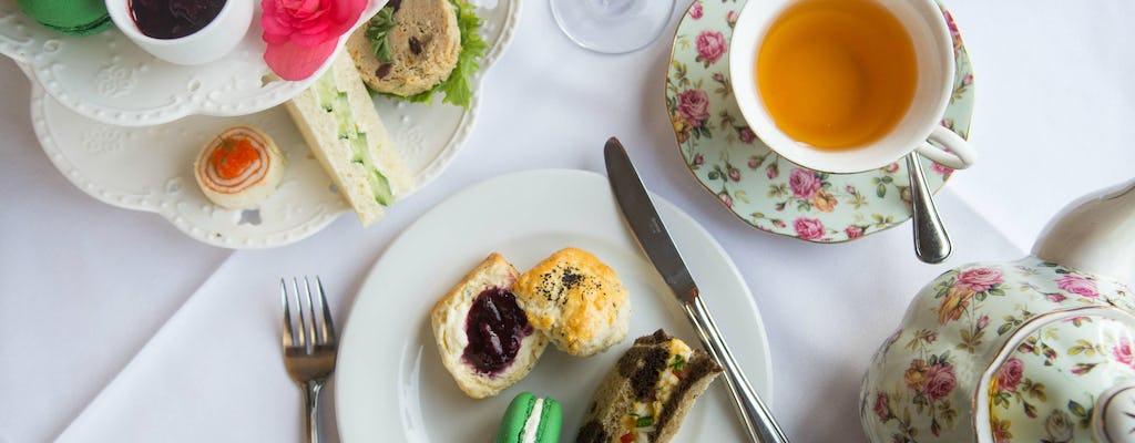 Thé de l'après-midi de style victorien au Pendray Inn & Tea House