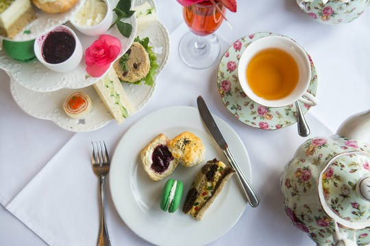 Victorian-style afternoon tea at Pendray Inn & Tea House