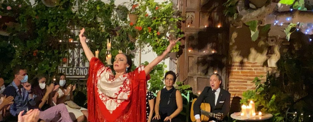 """Flamenco show """"Vive Ayamonte"""" with tapas dinner"""