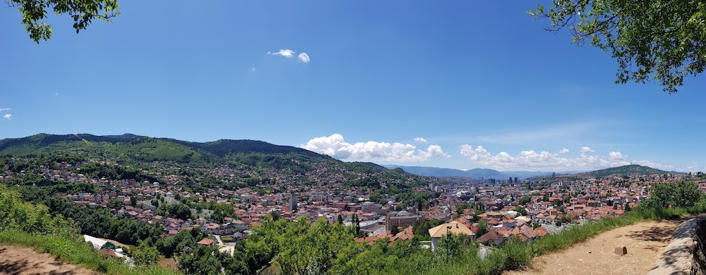 Guided tour through the old town in Sarajevo
