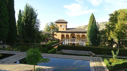 Alhambra e Generalife bilhetes sem fila e visita guiada com Palácios Nasridas para pequenos grupos