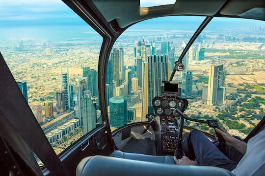 30-minute helicopter tour over Dubai