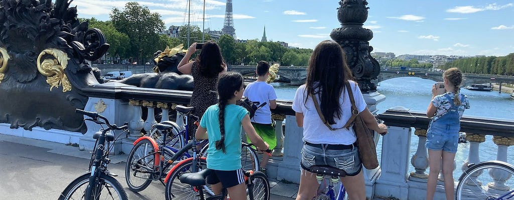 Paris for newbies bike tour